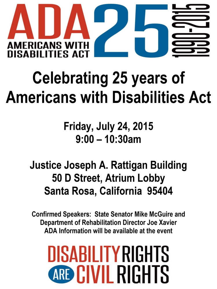 ADA Americans with Disabilities Act 25 1190-2015 Image